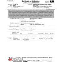 ISO-17025 Test Verileri ile Akredite Kalibrasyon